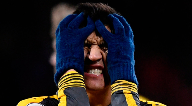 Alexis Sanchez. Photo: Dylan Martinez/Reuters