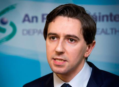 Simon Harris has impressed Fine Gael colleagues at a young age, but now faces the biggest test of his political career. Photo: Colin O'Riordan