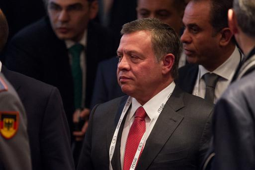 King Abdullah II of Jordan. (Photo by Lennart Preiss/Getty Images)
