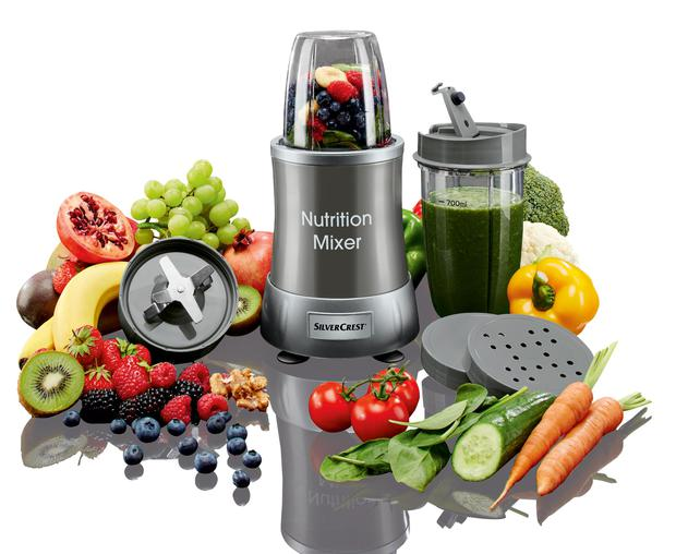 The Nutrition mixer retails for €39.99 and is in stores on January 5