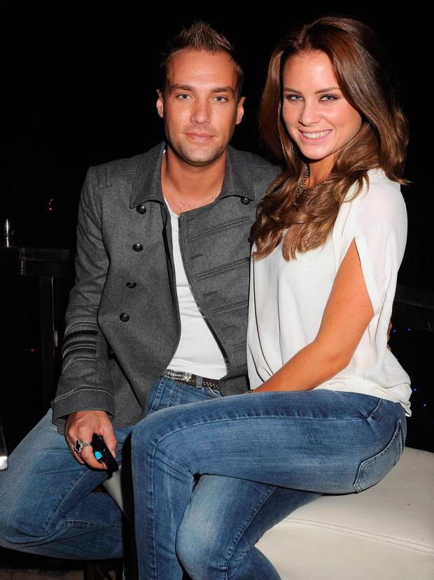 Calum Best and Jodie Wood in 2010