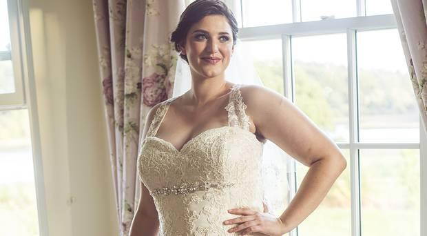 Laura Firby says finding work as a plus-size model is difficult