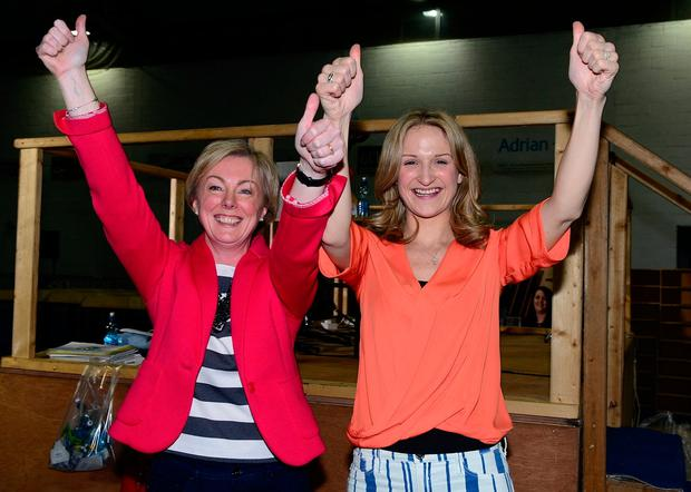 Constituency and party colleagues Regina Doherty and Helen McEntee
