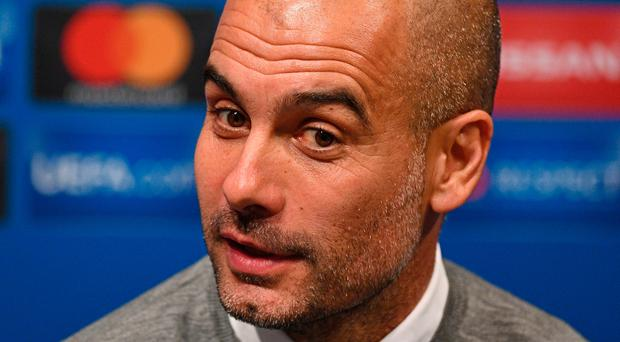 Pep Guardiola admitted it was inappropriate of him to suggest he was already on the road to retirement. Photo by David Ramos/Getty Images