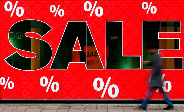 Retail sales in Ireland have rebounded, despite fears about Brexit. Photo: REUTERS