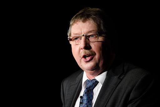 DUP MP Sammy Wilson. Photo: AFP/Getty Images