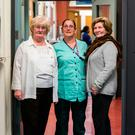 Rotunda Hospital staff through the generations. L to R: Kay Byrne, Lisa Byrne-Malone, Elizabeth Gallagher.