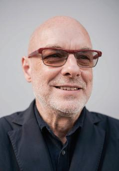 Broad range: Eno's musical CV includes Roxy Music, U2 and Dido
