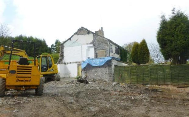 The Peels and Eckersall are both applying for permission to rebuild CREDIT: CRAVEN DISTRICT COUNCIL/PA