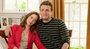 'Fake-up artists': Emily Blunt and Jason Segel as a couple who get engaged, row, complain about each other, break up and get back together in The Five Year Engagement