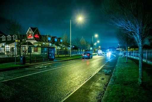 Little Pace Road Clonee scene of an alleged sexual Assault. Photo: Kyran O'Brien
