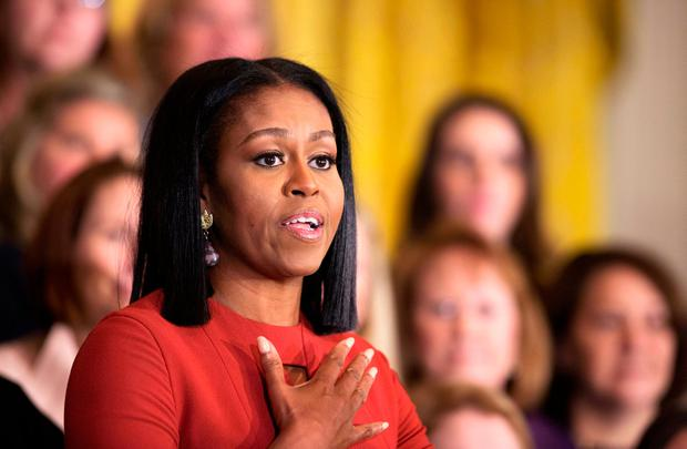 Michelle Obama on the bruising campaign to the White House