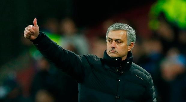 Mourinho said he could see his side taking shape even when they were not earning points Photo: Reuters