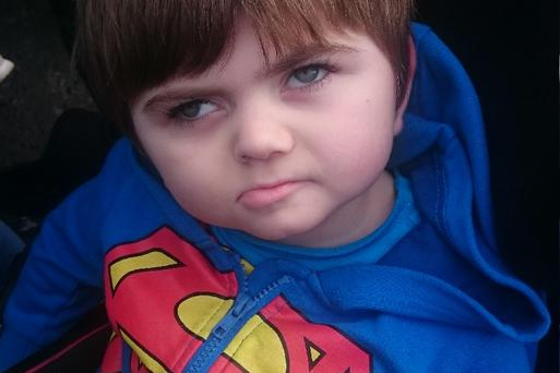 Michale Barry (4) from Blarney, Co Cork