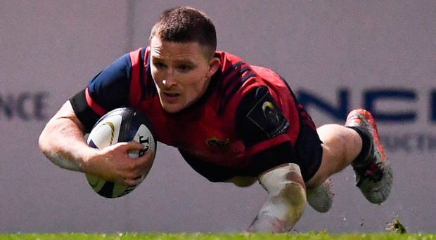 Munster's Andrew Conway