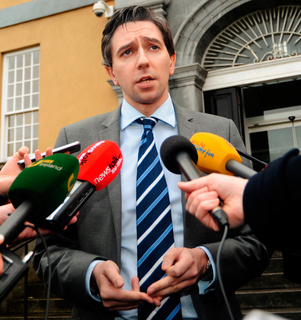Sticking plaster: Simon Harris has put more resources in place to try to address the trolley crisis Photo: Caroline Quinn