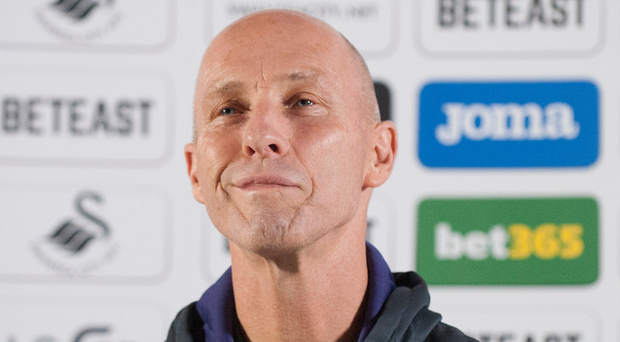Former Swansea City manager Bob Bradley. Photo: PA
