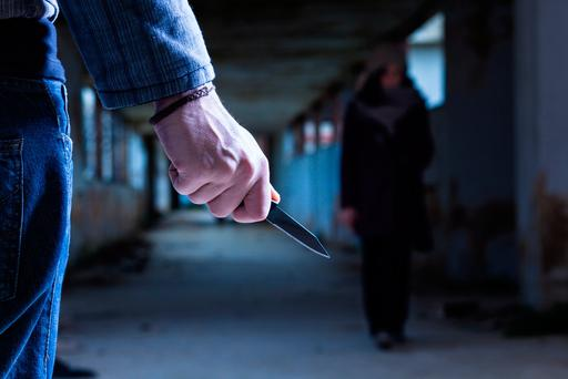 'According to gardai, emergency services and local people, stabbing is the routine punishment for young men caught up in the drugs trade and who fall into debt to their suppliers' Photo: Depositphotos