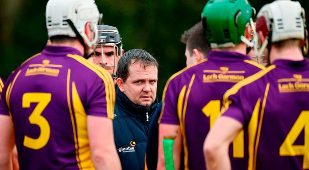 Wexford manager Davy Fitzgerald ahead of the Bord na Mona Walsh Cup Group 3 Round 1 match between Wexford and UCD at Páirc Uí Suíochan in Gorey, Co. Wexford. Photo by Ramsey Cardy/Sportsfile
