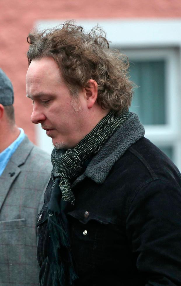 08/01/17 Mundy pictured at the funeral of Therese MacGowan (mother of Shane MacGowan) at Our Lady of Lourdes Church, Silvermines, Co. Tipperary this afternoon..Picture Colin Keegan, Collins Dublin.