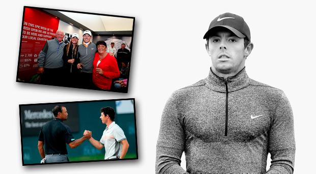 Rory McIlroy has opened up to Paul Kimmage on his life on and off the golf course