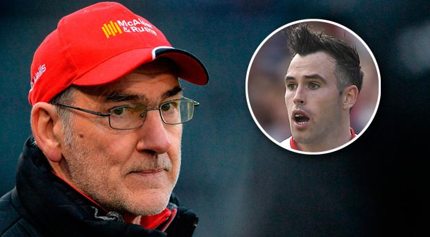 Mickey Harte has defended Cathal McCarron from criticism he has received following the publication of his autobiography 'Out Of Control'