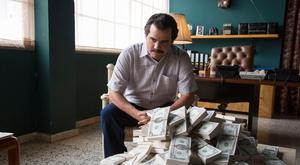 Wagner Moura as Pablo Escobar in 'Narcos'