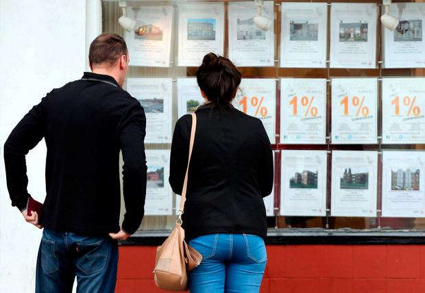 Easing of lending restrictions has helped first-time buyers. Photo: PA