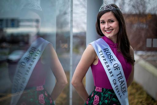 The Rose of Tralee Maggie McEldowney from Chicago. Photo: Fergal Phillips