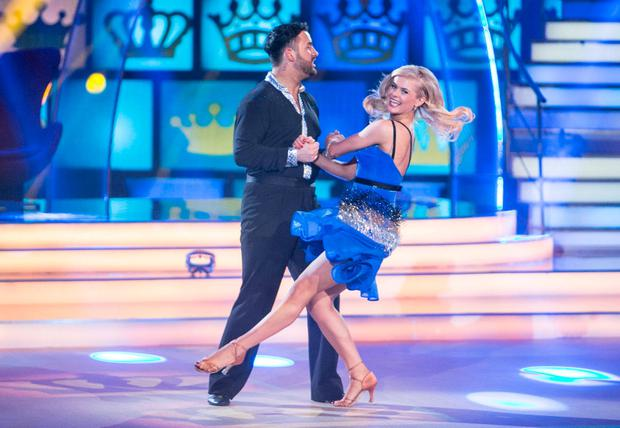 Hughie Maughan and Emily Barker performing. Photo: Kyran O'Brien