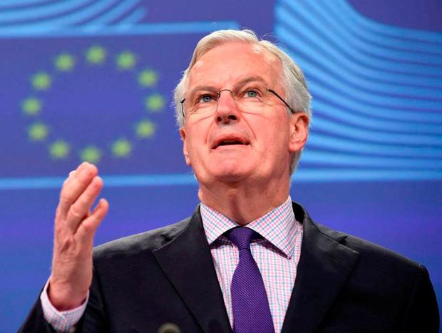 Former EU commissioner Michel Barnier. Photo: John Thys/AFP/Getty Images
