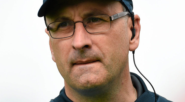 Laois manager Peter Creedon