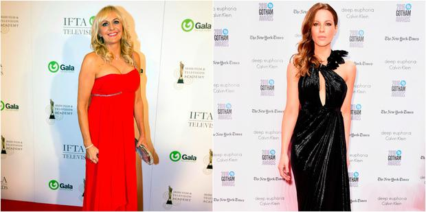 Miriam O'Callaghan and Kate Beckinsale