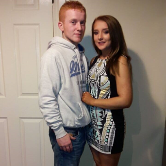 Daniel McCormack and girlfriend Niamh Dunleavy