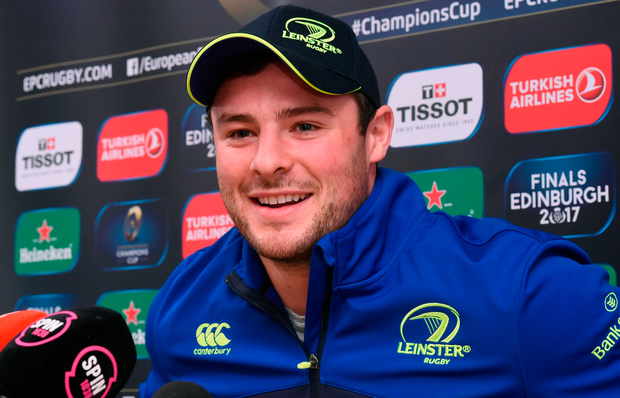 Robbie Henshaw admits he will have to alter his tackling technique a little to ensure he doesn't fall foul of new rules. Photo: Sportsfile