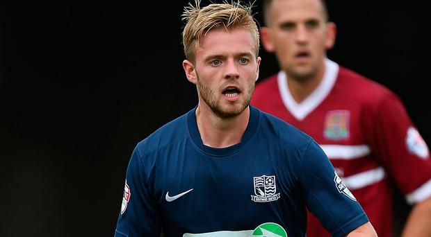 Conor Clifford in action for Southend United in a League Two match against Northampton Town earlier this season. Photo: Getty