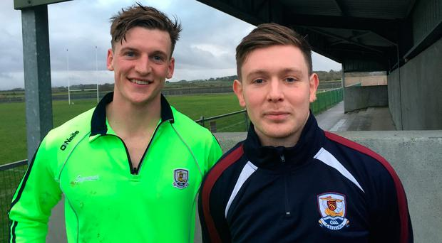 Michael Day and Ruairi Lavelle are doing their native Inishbofin proud with their exploits for Galway footballers in the Connacht Senior Football League.