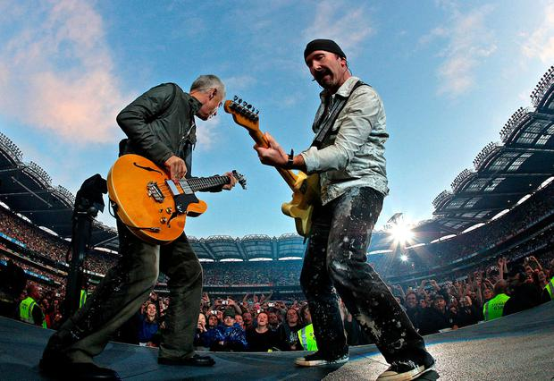U2 at Croke Park in 2008 Photo: Julien Behal/PA Wire