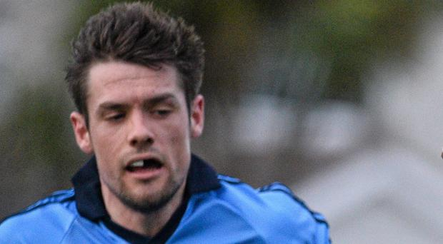 Stuart Lowndes in action for the Dubs in 2015