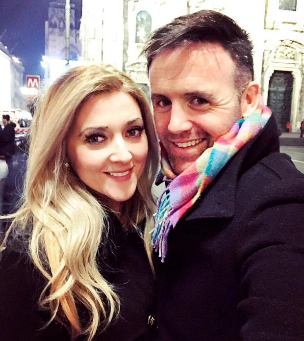 Jenny Dixon and Tom Neville TD in Milan