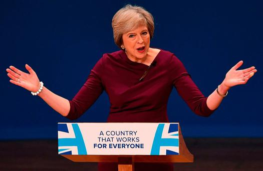 'Rather unhelpfully, Northern Ireland could be going to the polls at around the same time as British Prime Minister Theresa May starts the process of leaving the EU by triggering Article 50 in March.' Photo: AFP/Getty Images