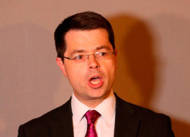 Secretary of State for Northern Ireland James Brokenshire. Photo: Niall Carson/PA Wire