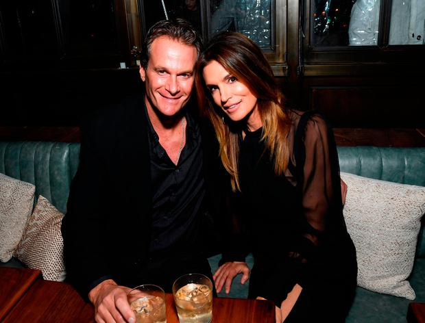 Rande Gerber (L) and Model Cindy Crawford attend Marie Claire's Image Maker Awards 2017 at Catch LA on January 10, 2017 in West Hollywood, California. (Photo by Matt Winkelmeyer/Getty Images for Marie Claire)