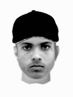 E-fit issued by the Greater Manchester Police of a man they wish to speak to following the rape of a 12-year-old girl last November