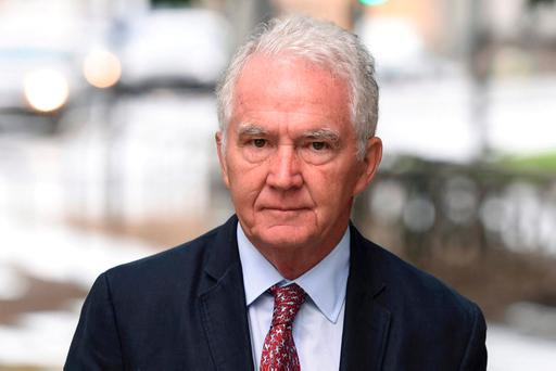 Seán FitzPatrick has pleaded not guilty to 27 charges. Photo: REUTERS