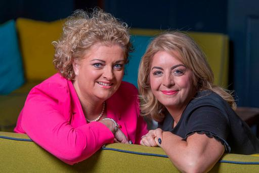 Opera singer Cara (left) and beautician Ciara. Photo: Michael Mac Sweeney/Provision