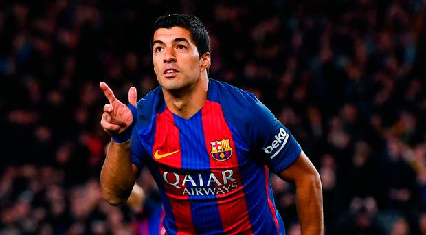 FC Barcelona's Luis Suarez (Photo by David Ramos/Getty Images)