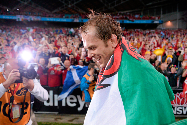 Alun Wyn Jones.