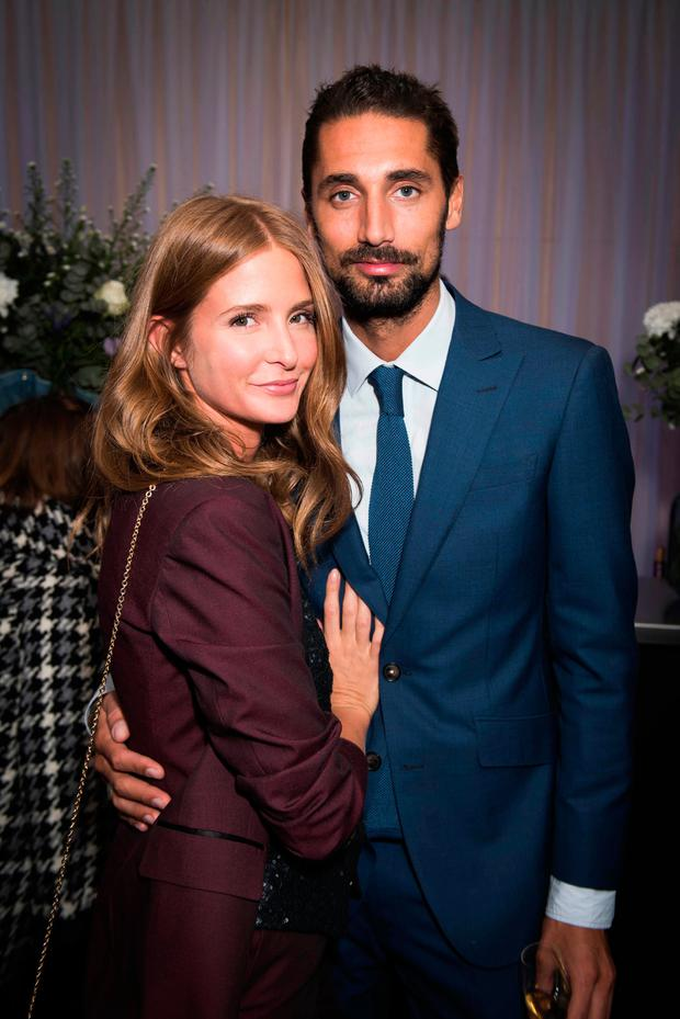 9a947eee6503 Millie Mackintosh and Hugo Taylor attending the opening night party of  English National Ballet s Giselle at