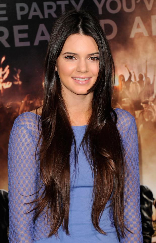 TV personality Kendall Jenner attends the 'Project X' Los Angeles premiere held at the Grauman's Chinese Theatre on February 29, 2012 in Hollywood, California. (Photo by Jason Merritt/Getty Images)